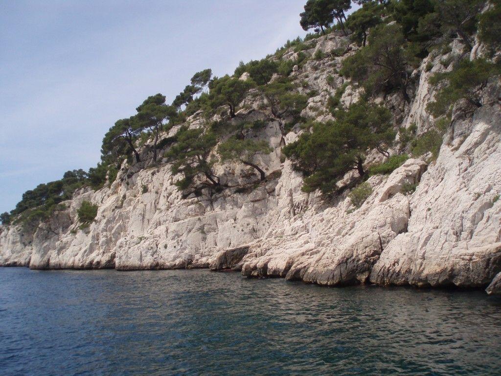 Lazurowe wybrzeże - Calanques