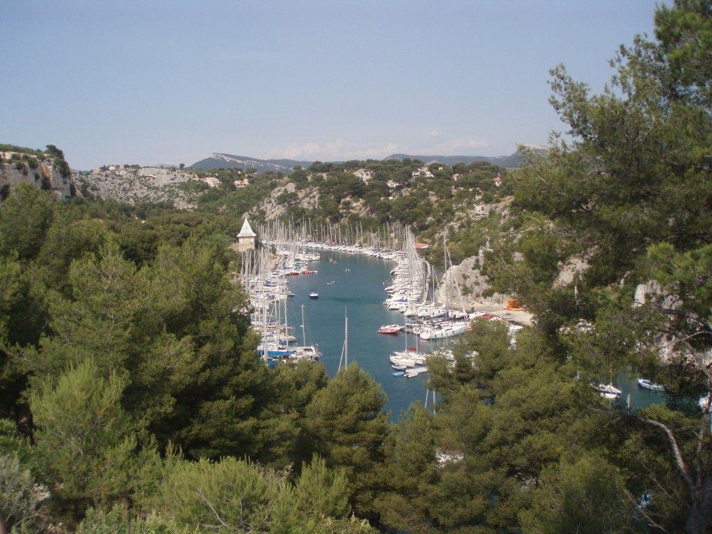 Lazurowe Wybrzeże Calanques port