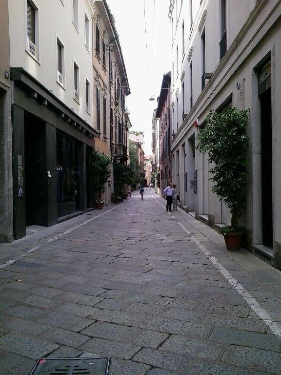 Mediolan uliczka