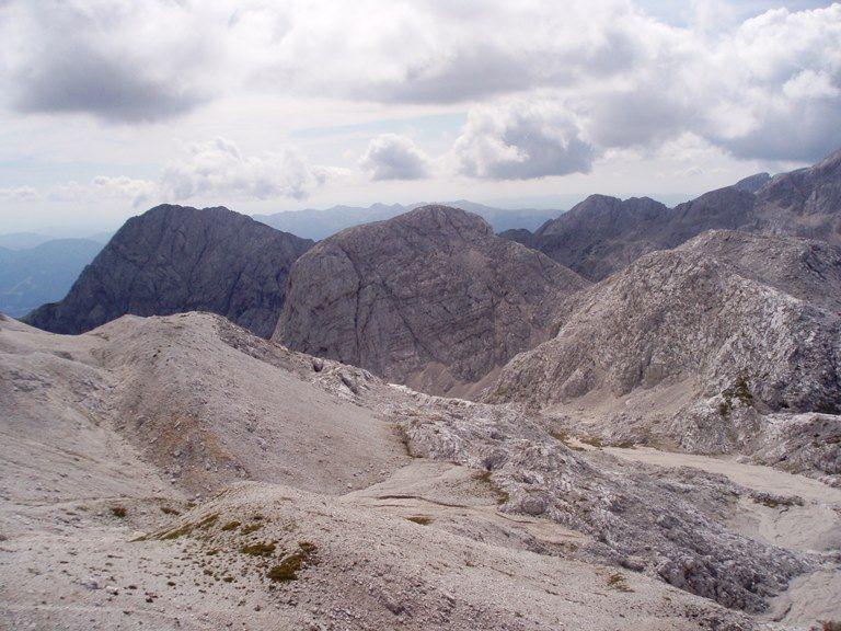 Szlak na Triglav - wyższe partie gór