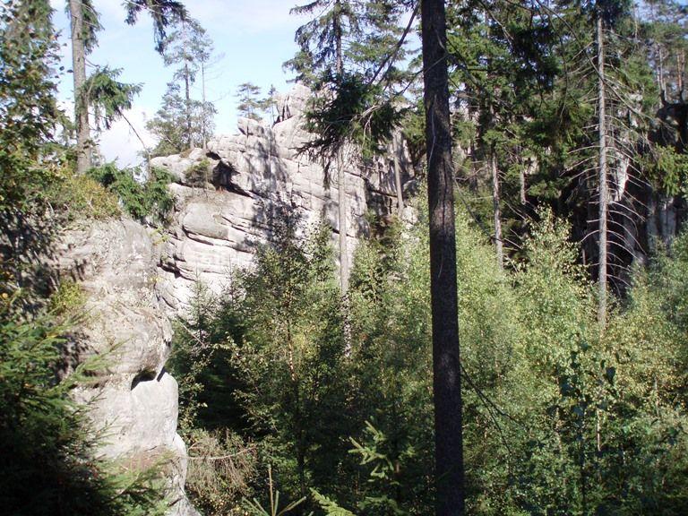 Białe Skały Góry Stołowe