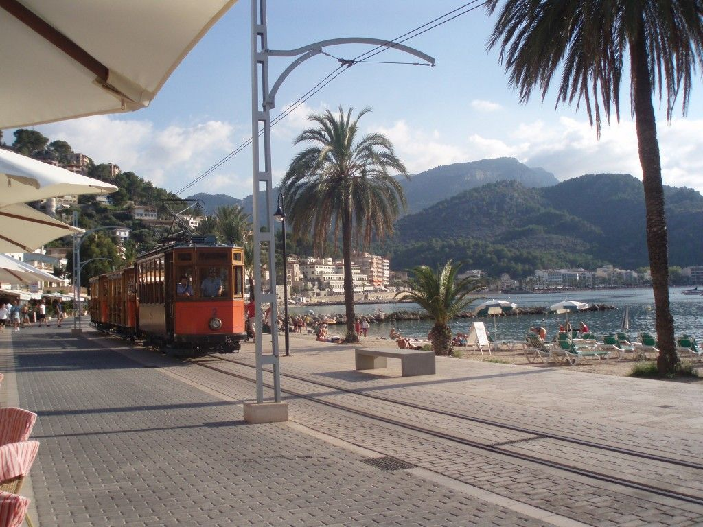 Port de Soller Majorka tramwaj