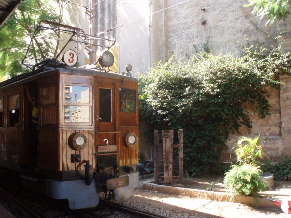pociąg Majorka