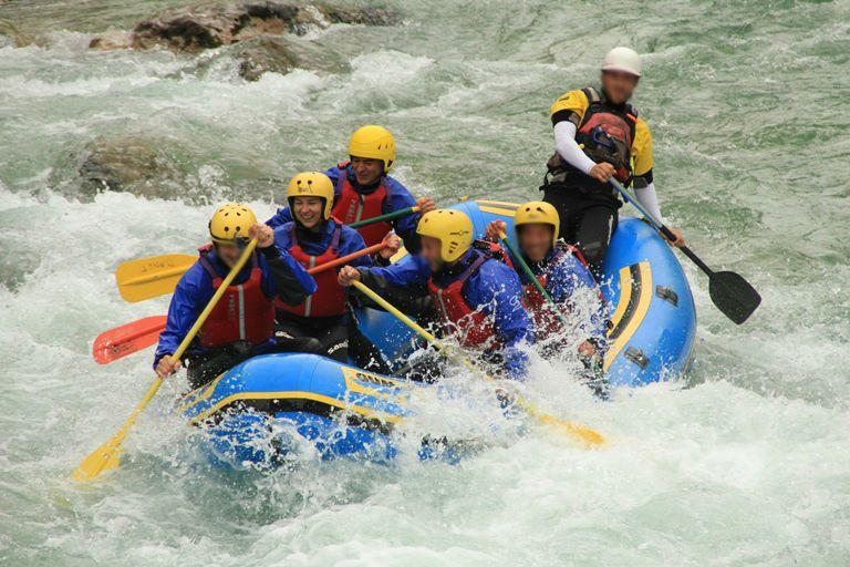 rafting na Socy