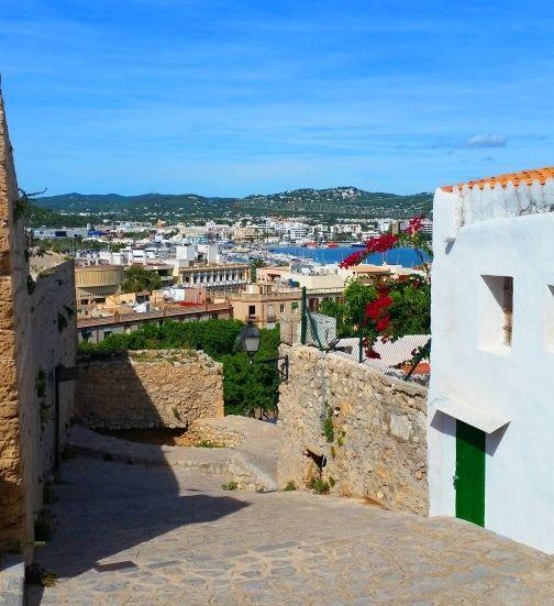 Eivissa - stare miasto
