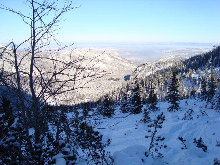 Kasprowy Wierch - widok na zaśnieżone Tatry