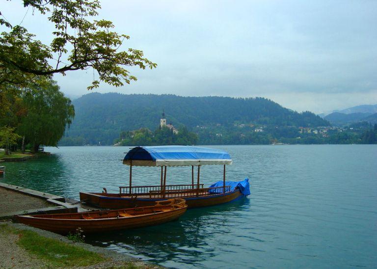 Słowenia - jezioro Blejsko