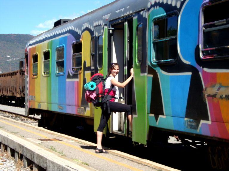 Słowenia - pociąg Gorizia