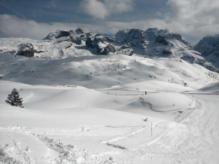 Val di Sole śnieg