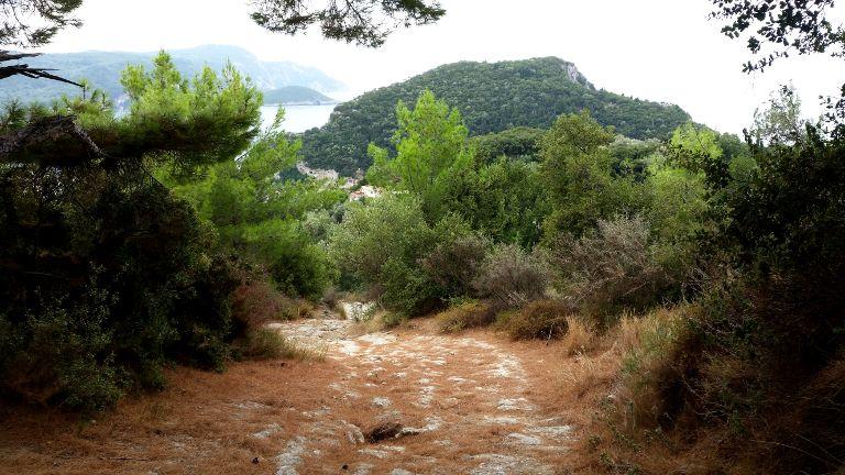 Paleokastrica szlak pieszy