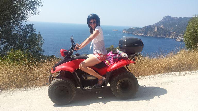 Quad na Korfu