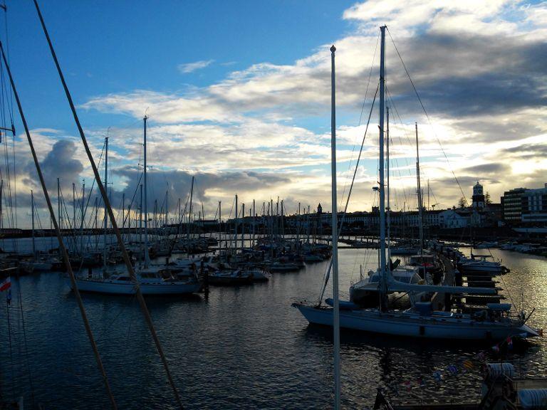 Ponta Delgada - port