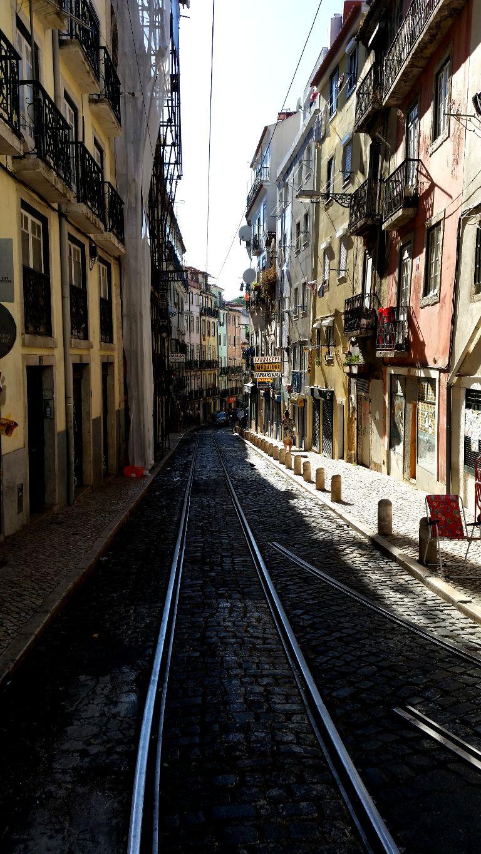 uliczka Lizbony