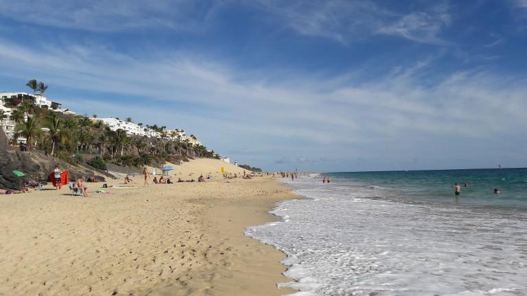 plaża w Morro Jable