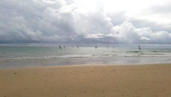 WIndsurfing na oceanie