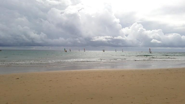 Plaża Sotavento – kite i windsurfing na Fuerteventurze