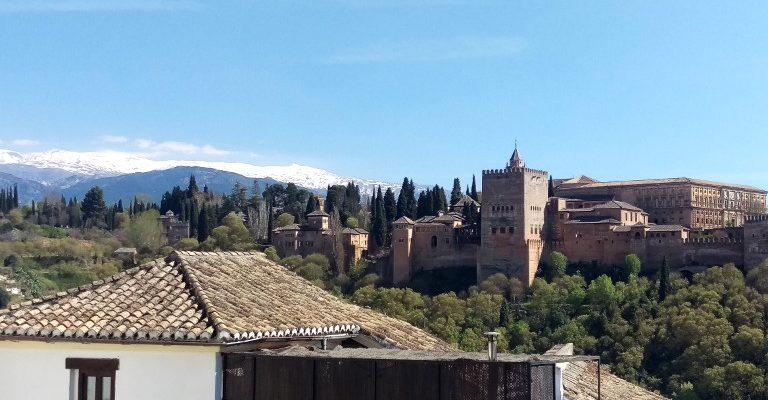 Alhambra i Sierra Nevada