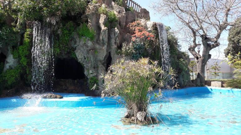 Parque Genoves wodospady