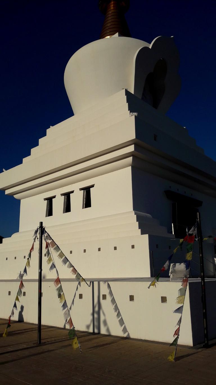 Stupa de la Iluminacion en Benalmadena