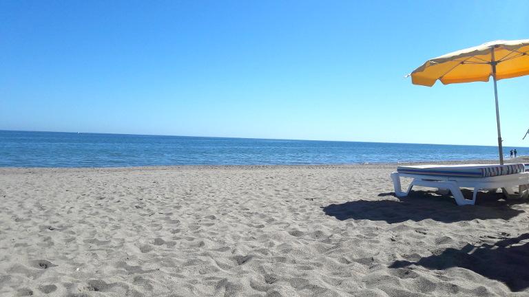 plaża w Torremolinos