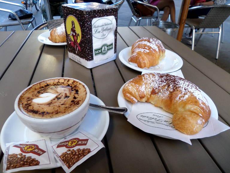 włoskie śniadanie :)