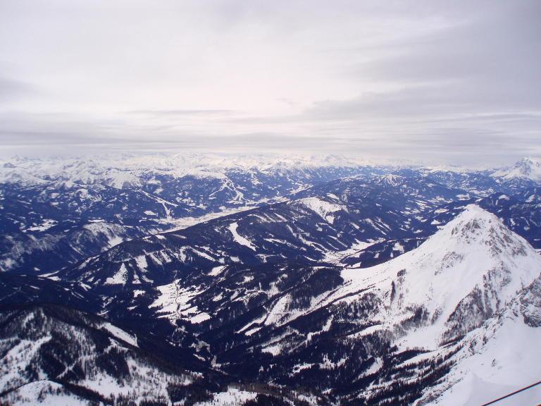 Dachstein - górska panorama
