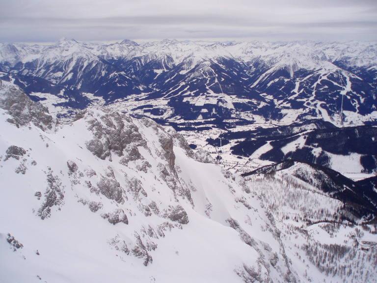 Widok z Dachstein