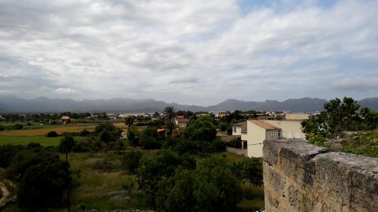Alcudia - widok z murów