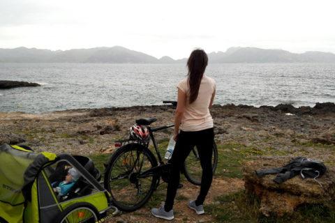 Na rowerze z niemowlakiem poniżej pierwszego roku życia