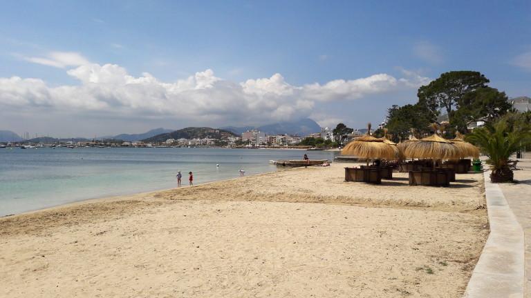 Plaża w Port de Pollenca