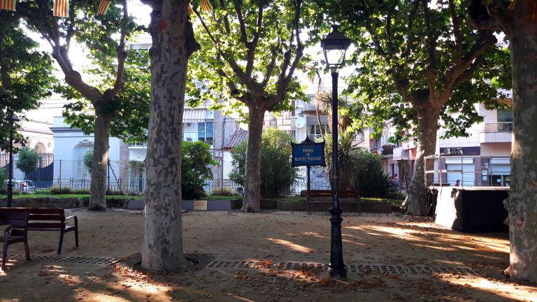 Promenada w miejscowości Calella