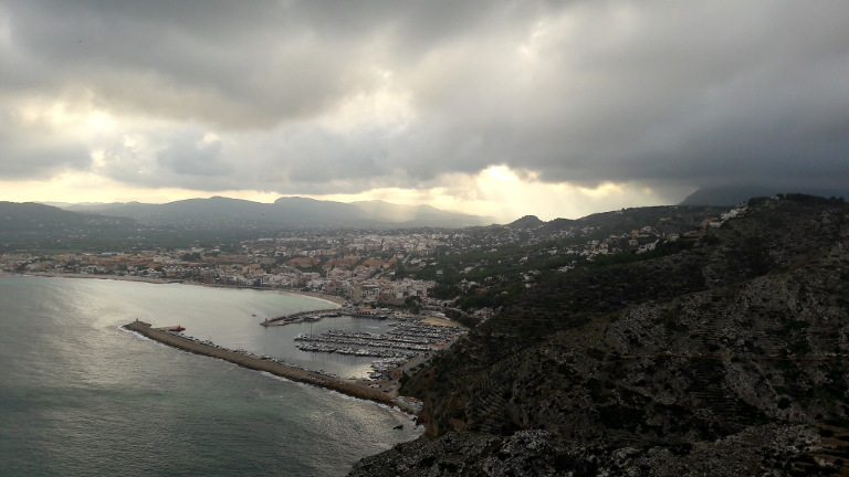 Cabo Sant Antonio widok