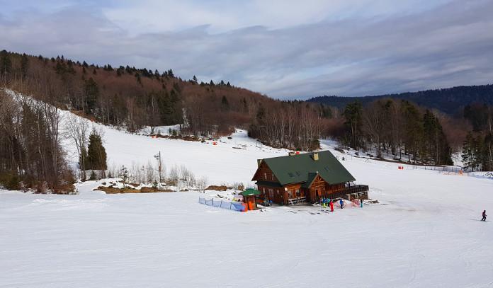 Jaworzyna krynicka - śnieg