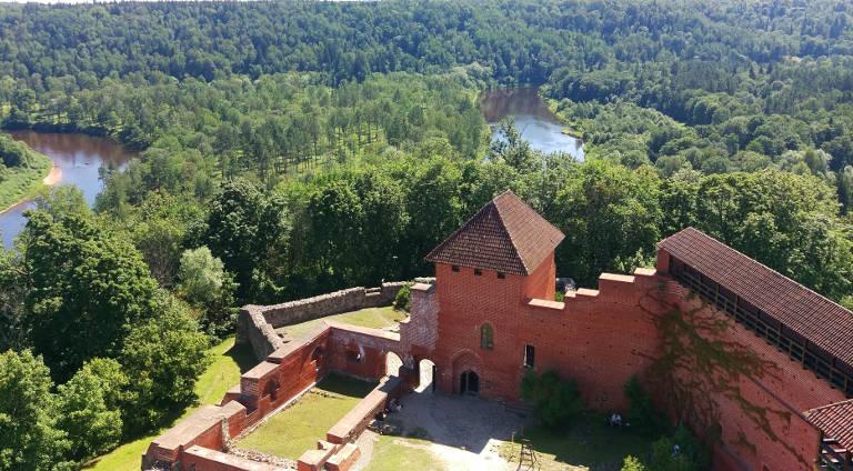 Zamek w Turaidzie