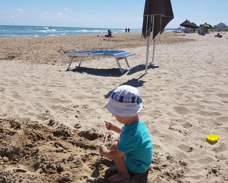 Plaża w Silvi