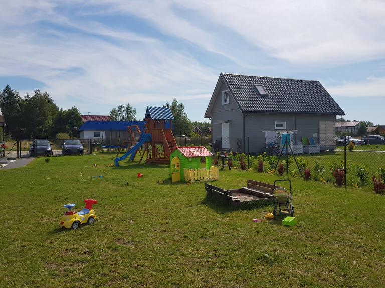 Błękitna Laguna - plac zabaw