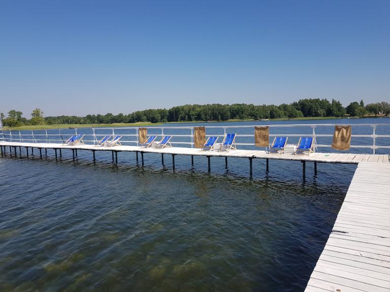 Jezioro Białe koło Gorzewa